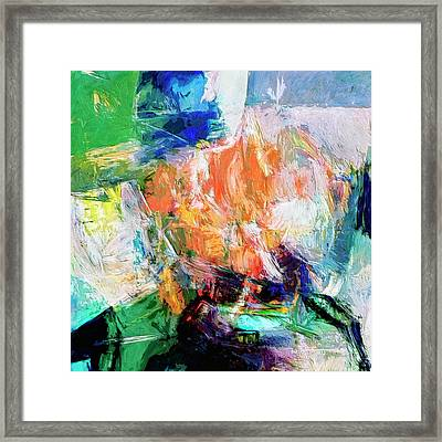 Framed Print featuring the painting Transformer by Dominic Piperata