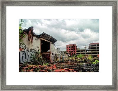 Apocalypse Detroit 2 Framed Print