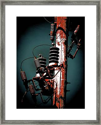 Transformers Two Framed Print by Beth Akerman
