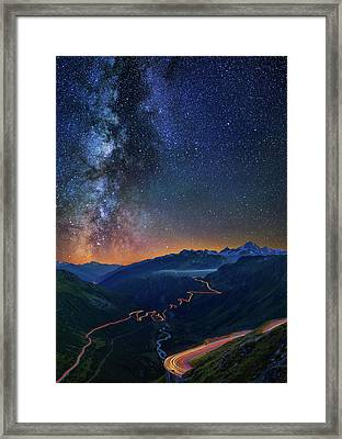 Transience And Eternity Framed Print
