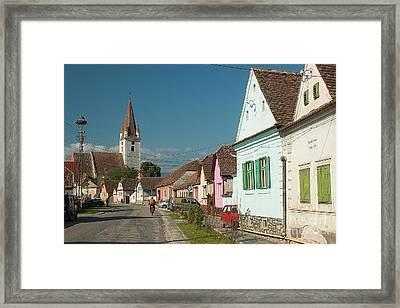 Transilvanian Idyll Framed Print by Christian Hallweger