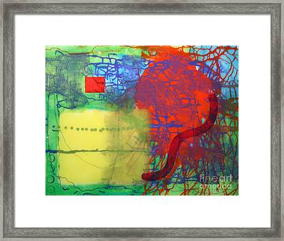 Framed Print featuring the painting Transit by Mordecai Colodner