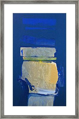 Transition 5 Slabs Framed Print by Cliff Spohn