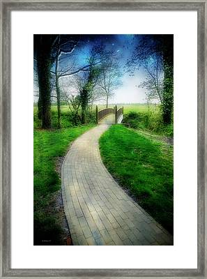 Transition Framed Print by Brian Wallace