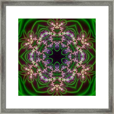 Transition Flower 6 Beats Framed Print
