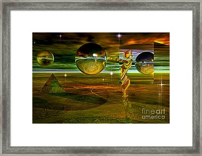 Transition Framed Print by Shadowlea Is