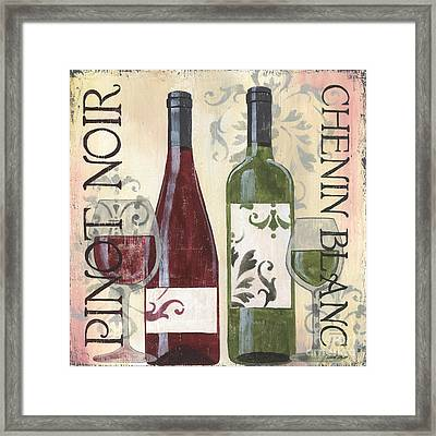 Transitional Wine 1 Framed Print by Debbie DeWitt