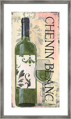 Transitional Wine Chenin Blanc Framed Print by Debbie DeWitt