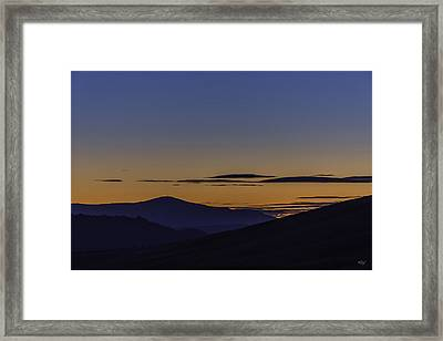 Transitions Framed Print by Everet Regal