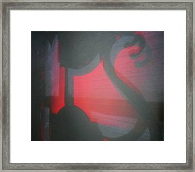 Transitory Framed Print by Richard Brookes