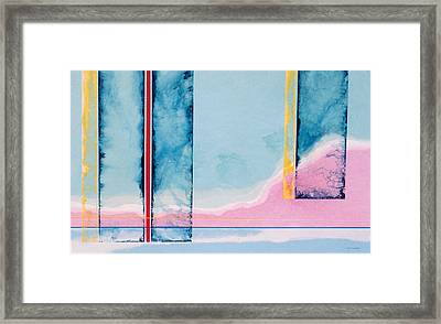 Transitory Veils Framed Print