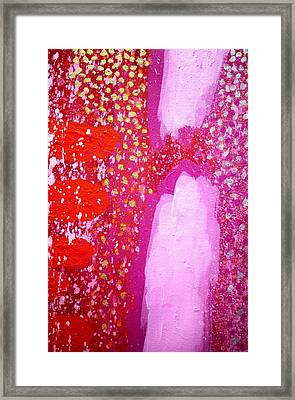 Transcendental Abstract  - Cropped Framed Print