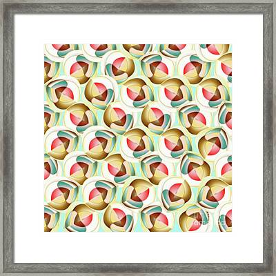 Translucent Glass Objects Framed Print