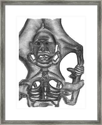 Transmigration Of The Soul Framed Print by Isaac Khonjelwayo