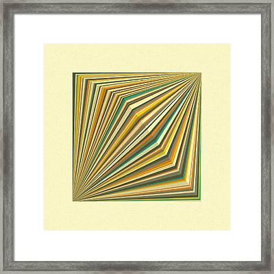 Transmission 1 Framed Print by Jazzberry Blue