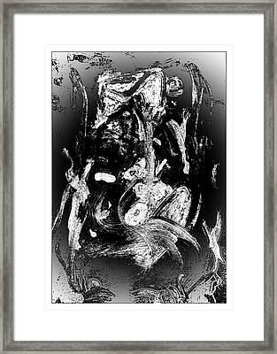 Transmutation Framed Print by Krzysztof Spieczonek