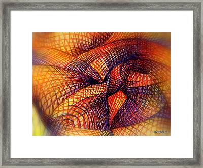 Transmutation Framed Print by Paulo Zerbato