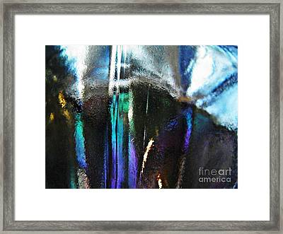 Transparency 4 Framed Print