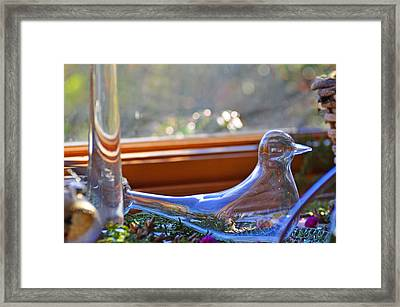 Transparent Peace Framed Print by Peter  McIntosh