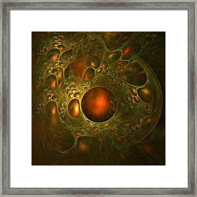 Transpiration Framed Print