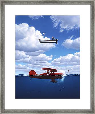 Transportation Framed Print by Jerry LoFaro