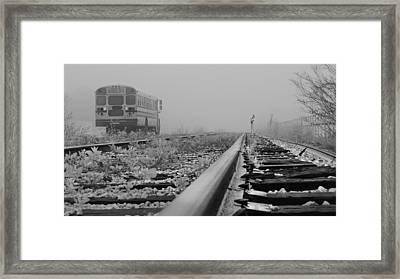 Transportation Perpective Framed Print by Laura Ragland