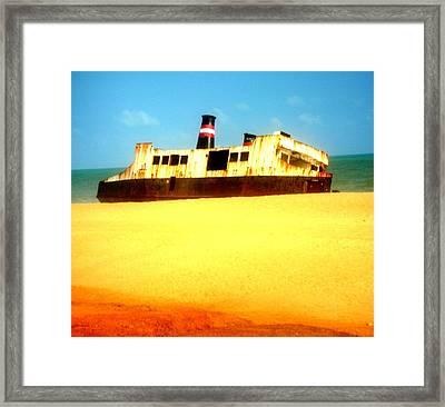 Transportation To Servitude Framed Print by Fania Simon