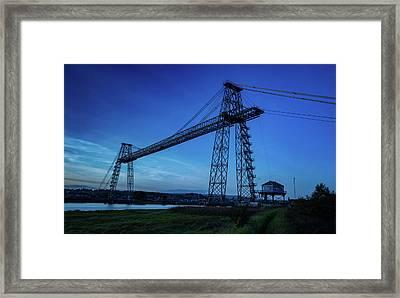 Transporter Bridge Framed Print