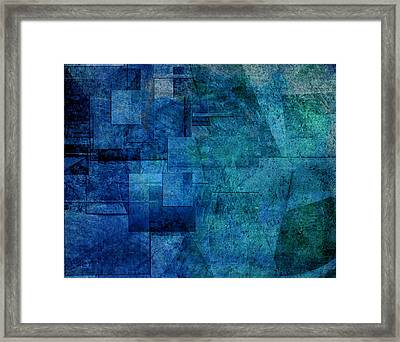 Framed Print featuring the digital art Transporter Hull by Jean Moore