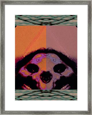Plain Trap Of Binary Complacence 2015 Framed Print