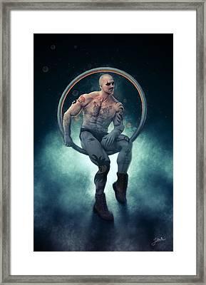 Trapeze Artist Seductive Framed Print
