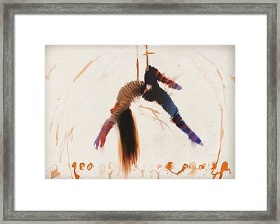 Trapeze Framed Print by H James Hoff