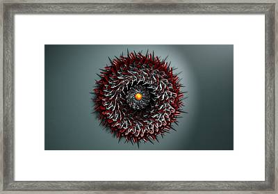 Trapped Framed Print by Adam Vance