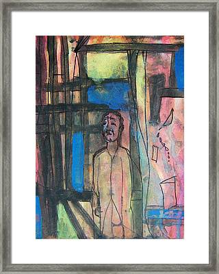 Trapped In Yourself Framed Print