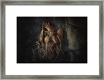 Trapped Framed Print by Jay Satriani