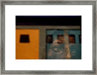 Trapped Framed Print by Jez C Self