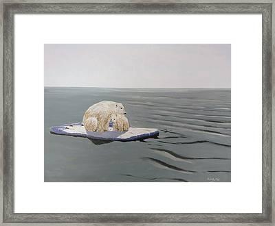 Stranded Framed Print