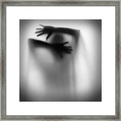 Trapped..... Framed Print