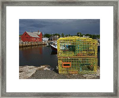 Traps By Motif No. 1 Framed Print