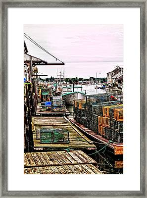 Traps Portland Maine Framed Print by Tom Prendergast