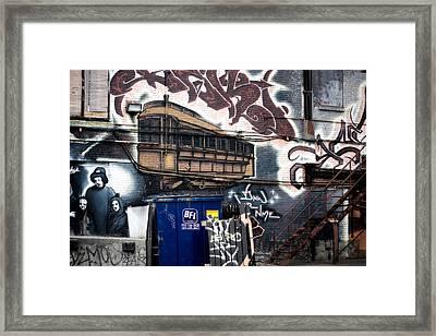 Trashed Framed Print by Lisa Knechtel