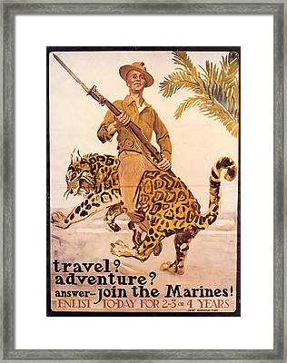 Travel? Adventure? Framed Print
