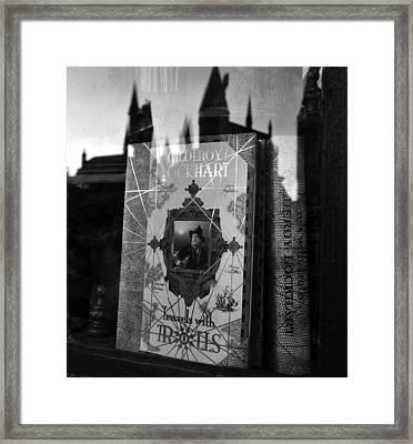 Travel Book  Framed Print by David Lee Thompson