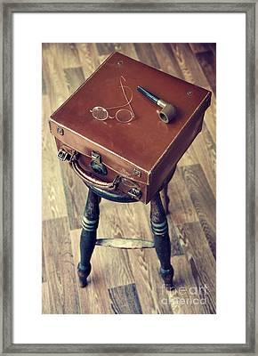 Travel Case Framed Print by Svetlana Sewell
