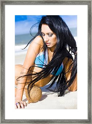 Travel Escape Framed Print