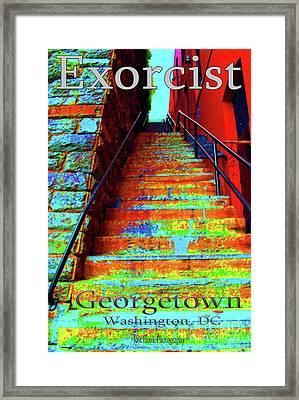 Travel-exorcist Steps Framed Print by Jost Houk