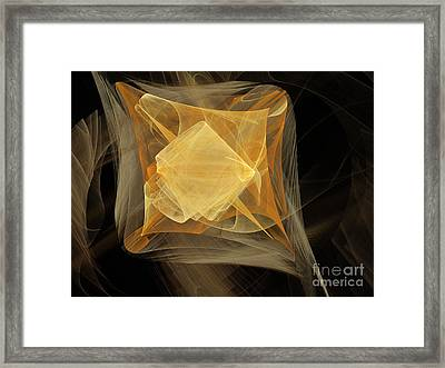 Travel In Time To 1969 Encased In Space Framed Print by Andee Design