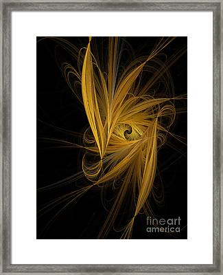 Travel In Time To 1969 Through The Nebula Framed Print by Andee Design