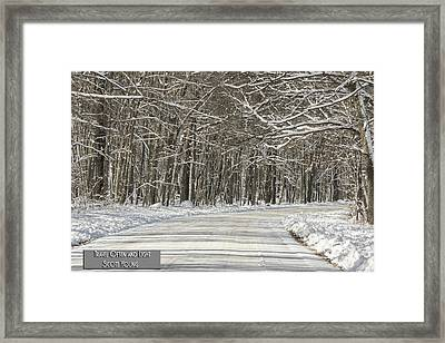 Travel Often And Light Framed Print by Thomas Young