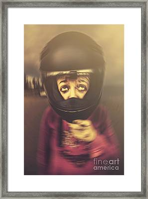 Travel Sickness Framed Print by Jorgo Photography - Wall Art Gallery